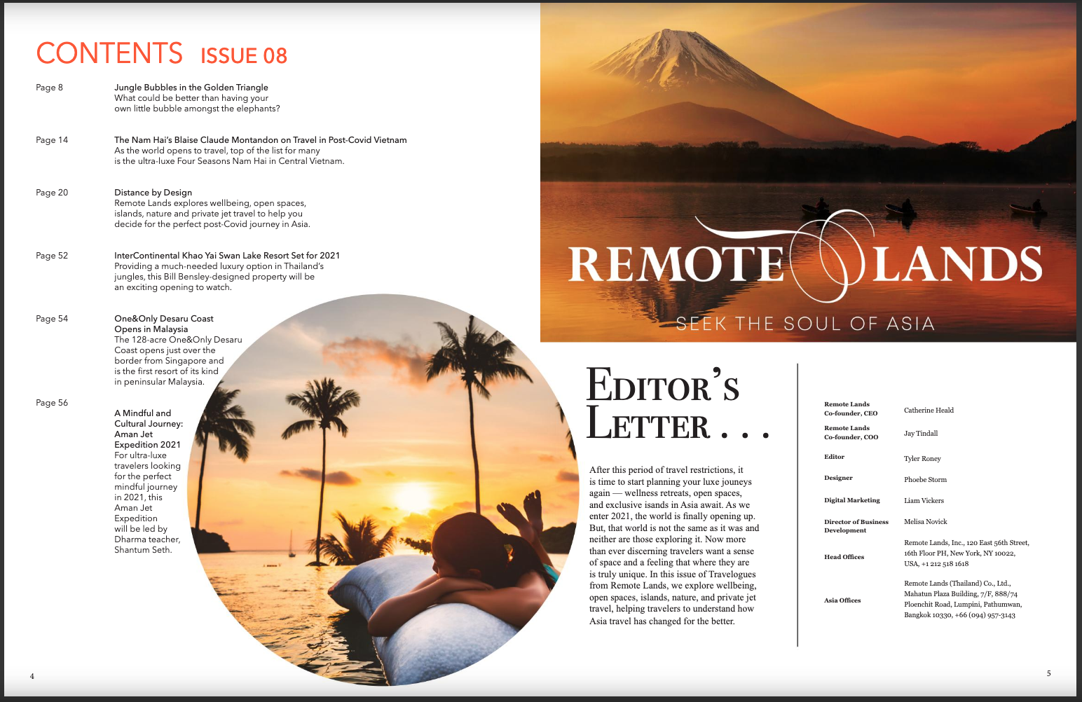Travelogues from Remote Lands Magazine
