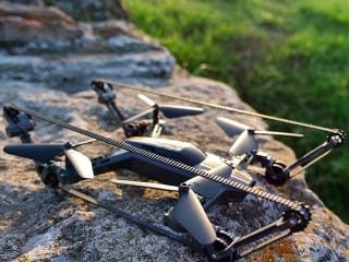 The X-TANKCOPTER: World's First All-terrain Drone