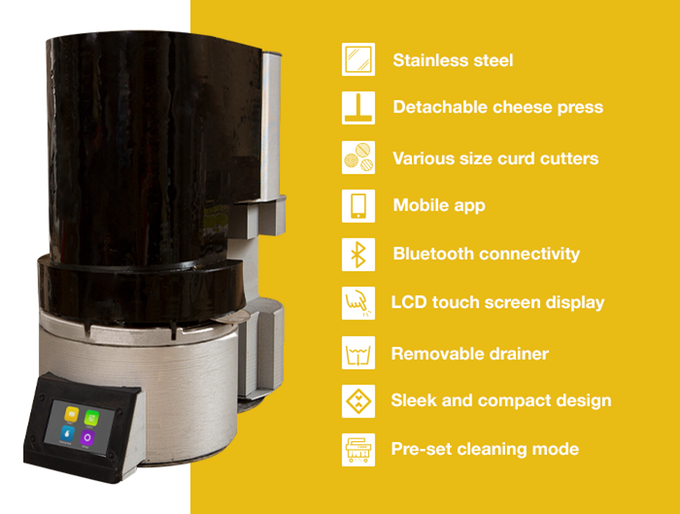 Fromaggio: World's First Smart, Automatic Home Cheesemaker